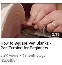 Pen Blanks at Penn State Industries